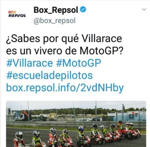 Articulo BOX Repsol Villarace